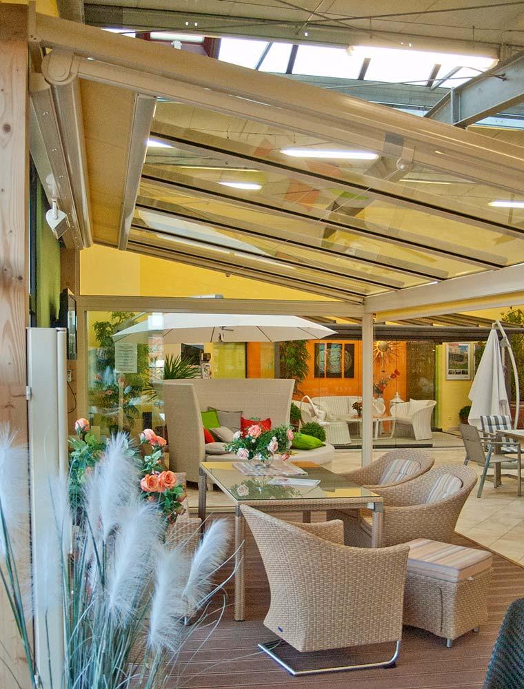 Ausstellung Wintergarten & Outdoor-Möbel auf 1500m² - Firmengruppe ...