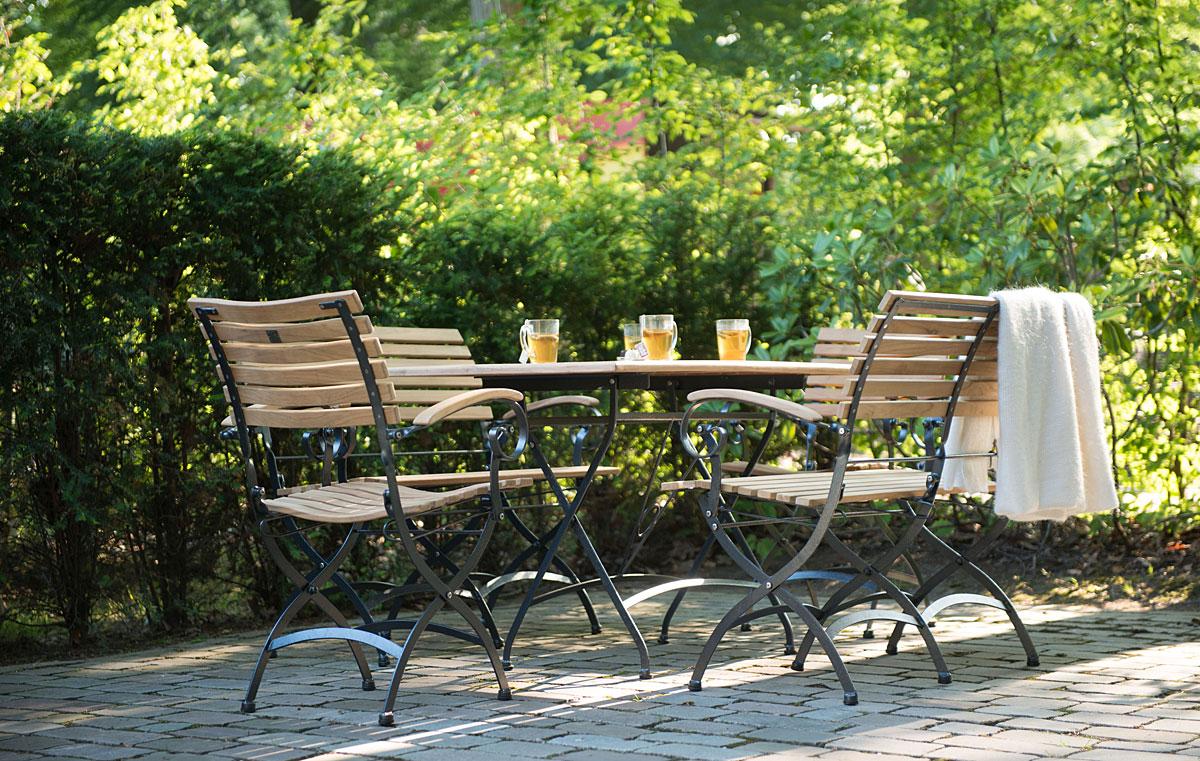 Gartenmobel Landhausstil Rattan : Gartenmöbel Set aus Holz, Metall oder Kunststoff  Kwozalla
