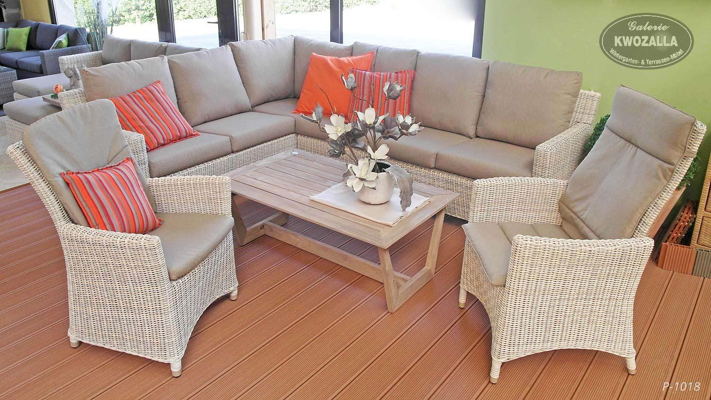 gartenmöbel aus polyrattan für dresden und umgebung - kwozalla, Wohnzimmer dekoo