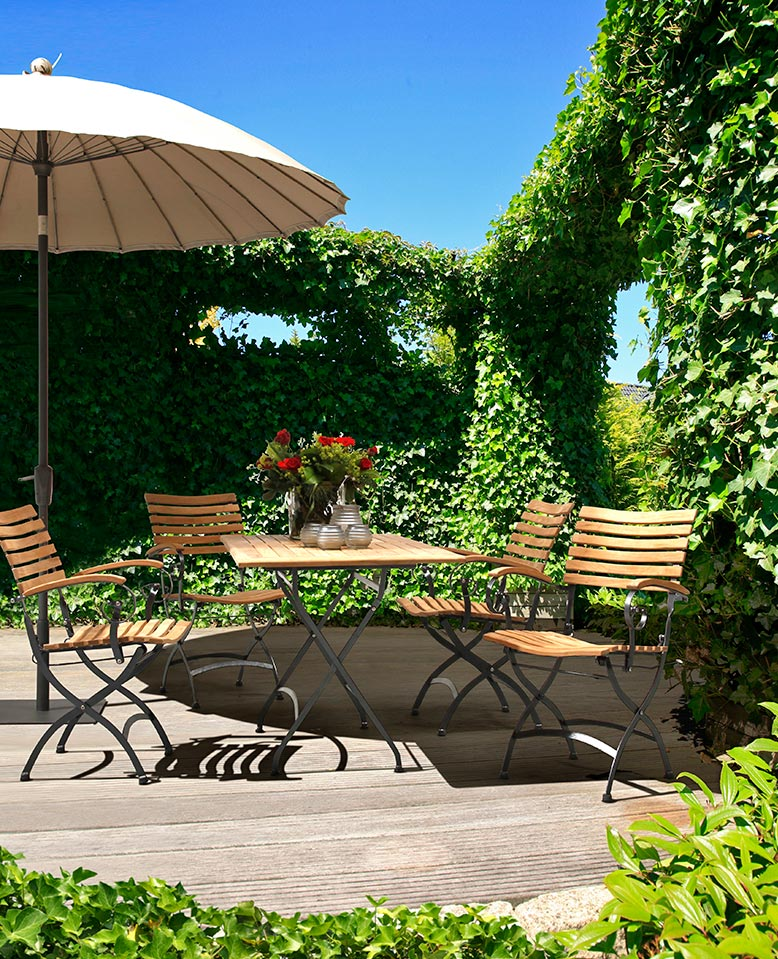 wetterfeste balkonm bel kwozalla firmengruppe. Black Bedroom Furniture Sets. Home Design Ideas