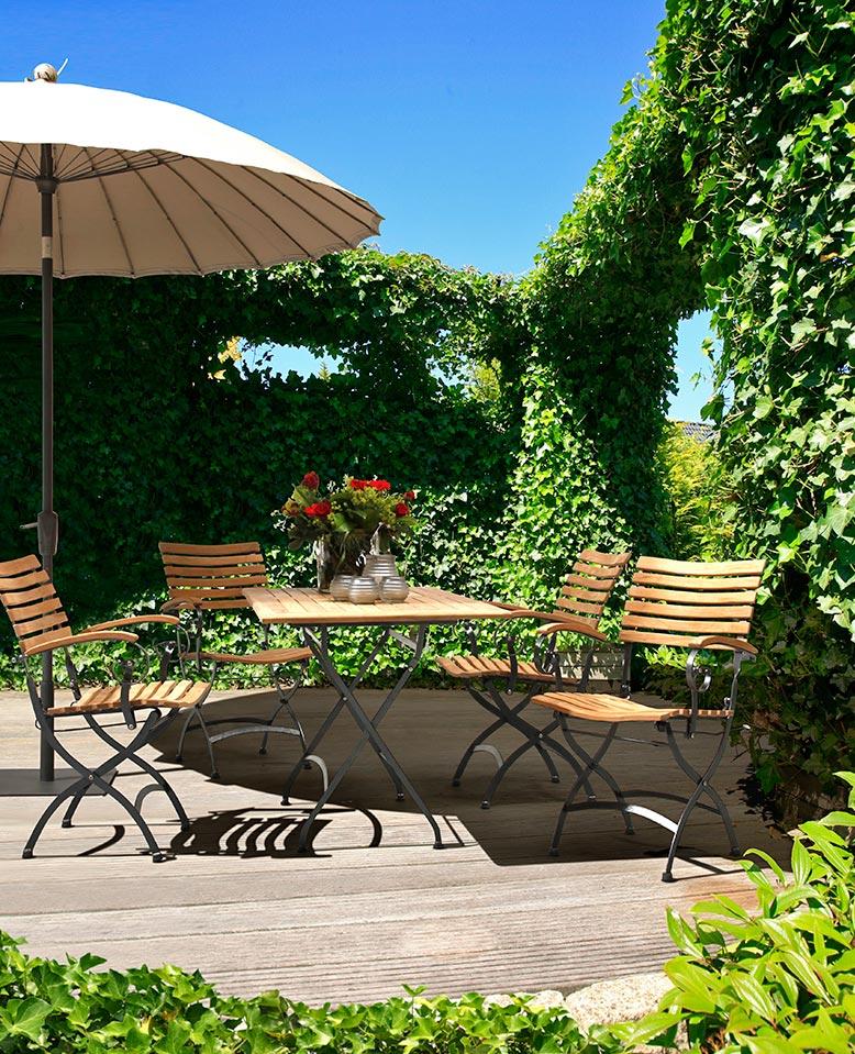 Wetterfeste Gartenmöbel - Kwozalla Firmengruppe