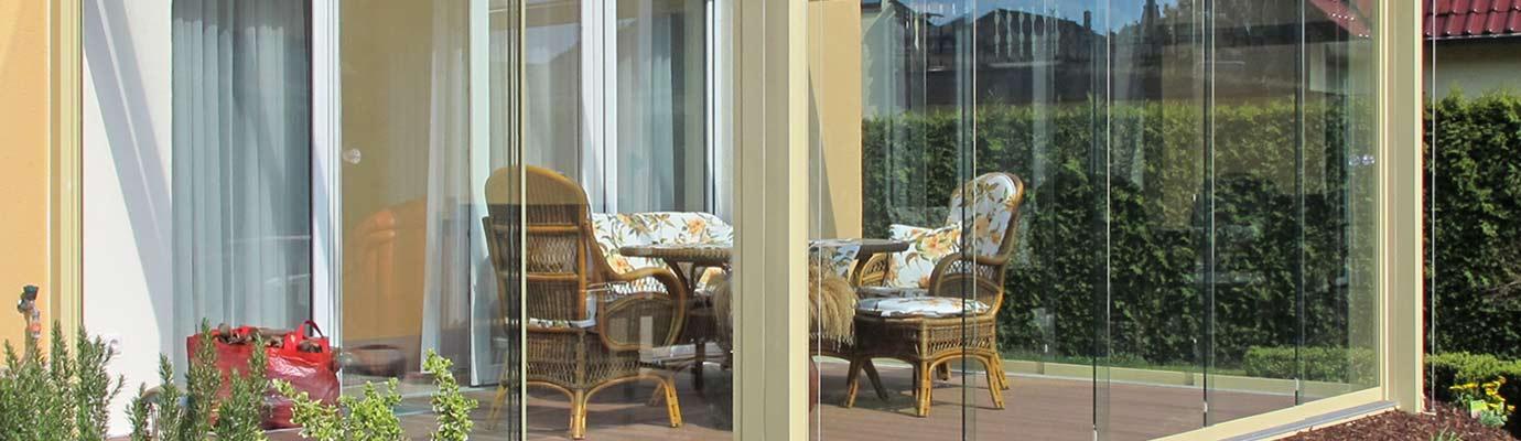Windschutz Für Terrassenüberdachung : Windschutz Verglasung der Terrassen u00fcberdachung