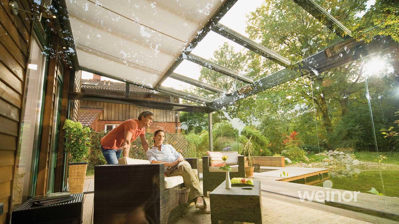 Verglasung Von Terrasse Balkon Wintergarten Kwozalla Firmengruppe